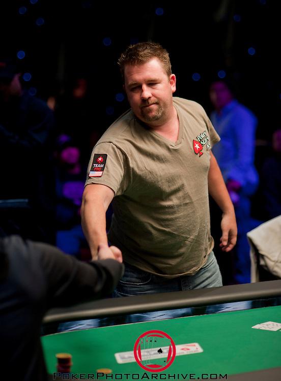 Team Pokerstars Pro Chris Moneymaker is knocked out.