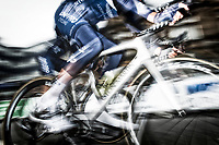 Picture by Allan McKenzie/SWpix.com - 15/05/2018 - Cycling - OVO Energy Tour Series Mens Race Round 2:Motherwell - Aston Martin, One Pro Cycling, bikes, branding.