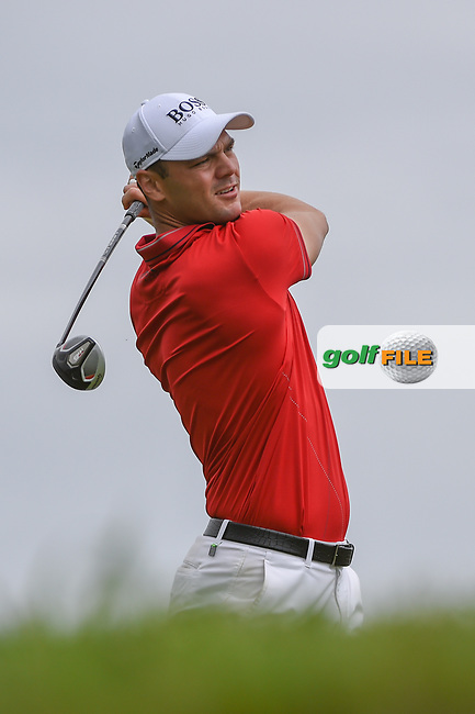 Martin Kaymer (GER) watches his tee shot on 11 during day 4 of the Valero Texas Open, at the TPC San Antonio Oaks Course, San Antonio, Texas, USA. 4/7/2019.<br /> Picture: Golffile | Ken Murray<br /> <br /> <br /> All photo usage must carry mandatory copyright credit (© Golffile | Ken Murray)