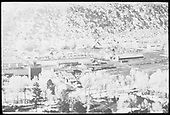 Elevated view of Dolores, Colorado.<br /> RGS  Dolores, CO