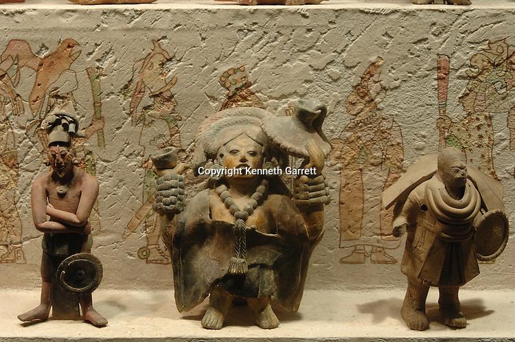 Maya Rise and Fall, Mexico City, National Museum of Anthropology and History, INAH, Mayapan, Site, Mayan, Maya, Ancient Cultures, Figurines, Jaina