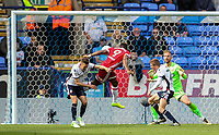 Middlesbrough's Britt Assombalonga scores their first goal<br /> <br /> Photographer Andrew Kearns/CameraSport<br /> <br /> The EFL Sky Bet Championship - Bolton Wanderers v Middlesbrough - Saturday 9th September 2017 - Macron Stadium - Bolton<br /> <br /> World Copyright &copy; 2017 CameraSport. All rights reserved. 43 Linden Ave. Countesthorpe. Leicester. England. LE8 5PG - Tel: +44 (0) 116 277 4147 - admin@camerasport.com - www.camerasport.com