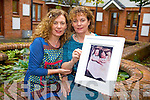 Treasa and Grainne Breathnach from Tralee who featured in a world famous photo taken by their father Tomás fifty years ago as part of the Tokyo Olympic World Asahi Pentax International Competition. It will be display in Kerry County Museum in Tralee for one month.