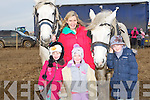 OLD STYLE:Having a go at the old style ploughing at the Abbeydorney ploughing competition on Sunday on Corridon Land,Abbeydorney were, L-R; Sadhbh Slattery, Sophia Molone, Molly Slattery and Grace Molone.