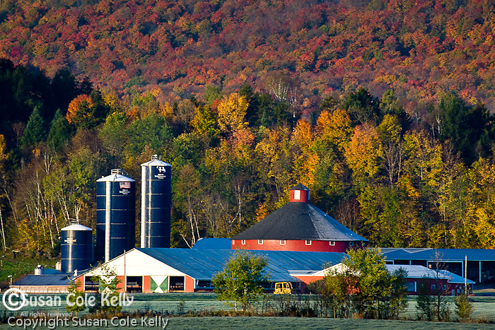 Autumn farm country, Irasburg, VT