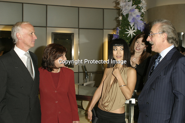 Guests, Bai Ling &amp; Roberto Coin<br />