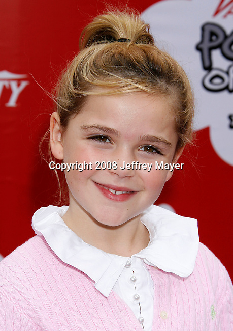 LOS ANGELES, CA. - October 04: Actress Kiernan Shipka arrives at 'Target Presents Variety's Power of Youth' event held at NOKIA Theatre L.A. LIVE on October 4, 2008 in Los Angeles, California.