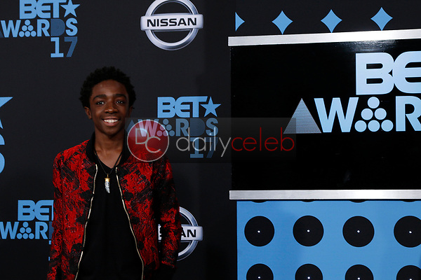 Caleb McLaughlin<br /> at the BET Awards 2017, Microsoft Theater, Los Angeles, CA 06-25-17<br /> David Edwards/DailyCeleb.com 818-249-4998
