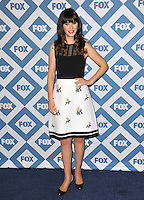 Zoe Deschanel at the Fox TCA All-Star Party at the Langham Huntington Hotel, Pasadena.<br /> January 13, 2014  Pasadena, CA<br /> Picture: Paul Smith / Featureflash