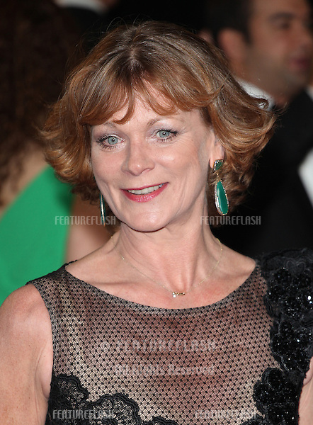 Samantha Bond arriving for the Royal World Premiere of 'Skyfall' at Royal Albert Hall, London. 23/10/2012 Picture by: Alexandra Glen / Featureflash
