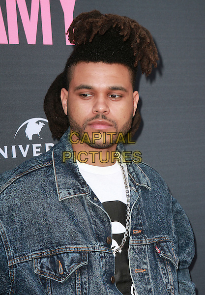 25 June 2015 - Hollywood, California - The Weeknd, Abel Tesfaye.  &quot;Amy&quot; Los Angeles Premiere held at the Arclight. <br /> CAP/MPI/TB<br /> &copy;TB/MPI/Capital Pictures
