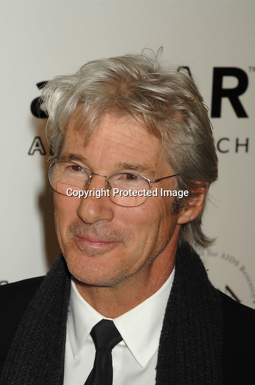 Richard Gere..arriving at The amFAR 2007 Gala at Ciprianis 42nd Street..on January 31, 2007. The Honorees were Sharon Stone, ..John Demsey and Bill Roedy..Robin Platzer, Twin Images