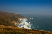 The Tomales Point Trail offers nice views of the Pacific Ocean.