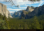 Yosemite Valley in March, El Capitan, Clouds Rest, Half Dome, Sentinel Rock, Sentinel Dome, Bridalveil Fall and Cathedral Rocks, Discovery View, Tunnel View, Yosemite National Park