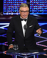 "BEVERLY HILLS - SEPTEMBER 7: Alec Baldwin appears onstage at the ""Comedy Central Roast of Alec Baldwin"" at the Saban Theatre on September 7, 2019 in Beverly Hills, California. (Photo by Frank Micelotta/PictureGroup)"