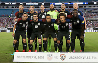 Jacksonville, FL - September 6, 2016: The U.S. Men's National team go up 1-0 over Trinidad & Tobago in first half action in a World Cup Qualifier (WCQ) match at EverBank Field.