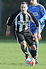Queens Park Rovers FC (black, white kit) 1 - Queens Park FC 2 (blue kit) in the Hampshire Sunday Senior Cup held at Chapel Gate 06-11-11 - ....