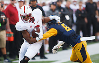Berkeley- November 22, 2014: Francis Owusu during the Stanford vs Cal at Memorial Stadium in Berkeley Saturday afternoon<br /> <br /> The Cardinal defeated the Bears 38 - 17