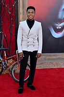 "LOS ANGELES, USA. August 27, 2019: Chosen Jacobs at the premiere of ""IT Chapter Two"" at the Regency Village Theatre.<br /> Picture: Paul Smith/Featureflash"