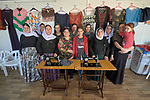Yazidi women participate in a sewing class in a &quot;Women Friendly Space&quot; in a camp for internally displaced persons at Dawodiya in Iraq's Kurdistan region. <br /> <br /> More than 600 Yazidi families living in the camp escaped from their communities in the Sinjar region during the attempted genocide by the Islamic State group. Although ISIS was militarily defeated in 2017, camp residents say it's still not safe to return home, nor do they have sufficient resources to rebuild their homes.<br /> <br /> The class is sponsored by the Lutheran World Federation, a member of the ACT Alliance, which provides water, sanitation, garbage collection, and psycho-social support for the families in the camp.