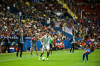 VALENCIA, SPAIN - SEPTEMBER 11: Vitolo during BBVA LEAGUE match between Levante U.D. And Sevilla C.F. at Ciudad de Valencia Stadium on September 11, 2015 in Valencia, Spain