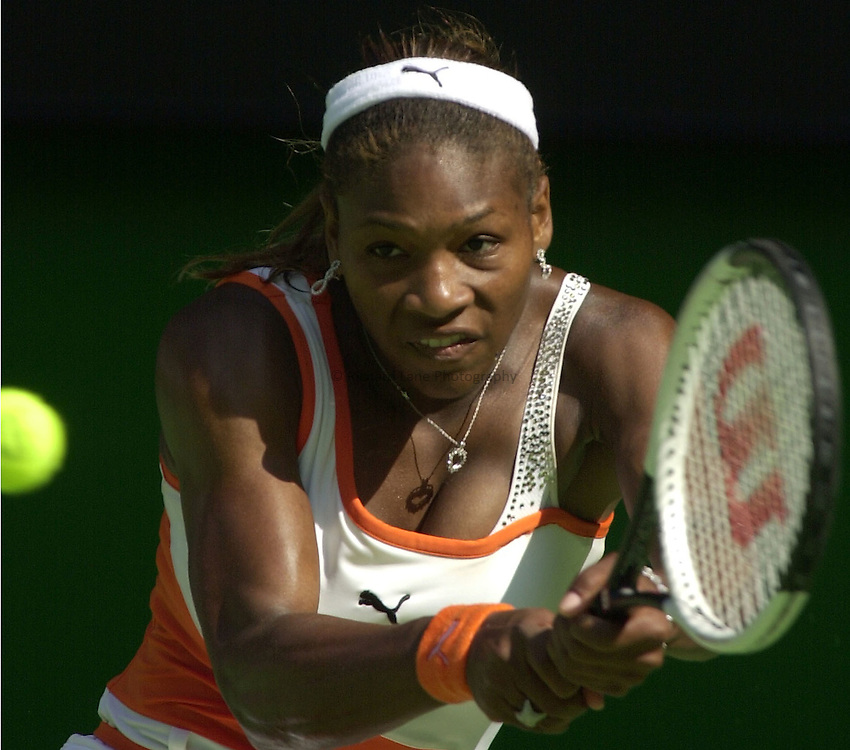 Australian Open Tennis 2003.23/01/2003..Serena Williams