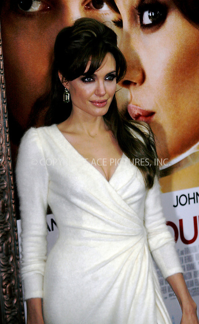 WWW.ACEPIXS.COM . . . . .  ....December 6 2010, New York City....Actress Angelina Jolie arriving at the World premiere of 'The Tourist' at Ziegfeld Theatre on December 6, 2010 in New York City.....Please byline: NANCY RIVERA- ACEPIXS.COM.... *** ***..Ace Pictures, Inc:  ..Tel: 646 769 0430..e-mail: info@acepixs.com..web: http://www.acepixs.com