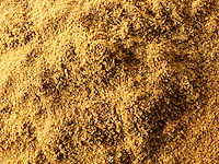 Ground Cumin powder - stock photos