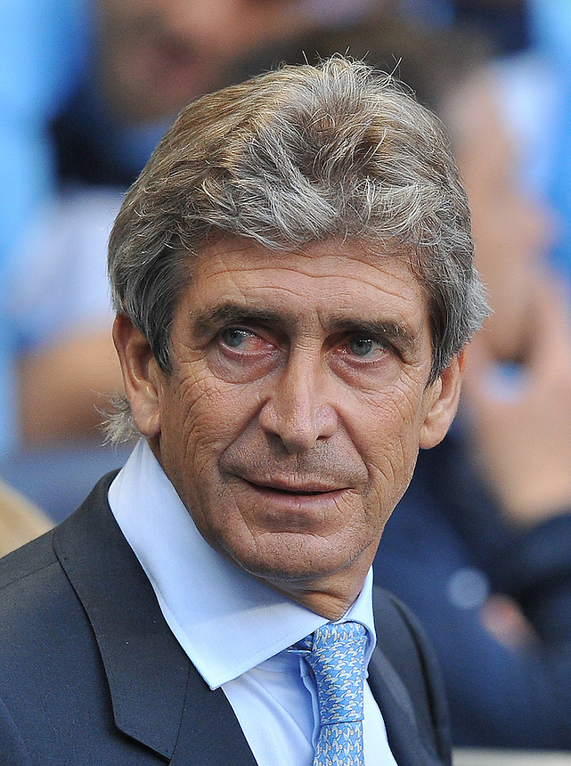 How blood shot are Manchester City's Manager Manuel Pellegrini eyes on only the first game of the season?<br /> <br />  (Photo by Dave Howarth/CameraSport) <br /> <br /> Football - Barclays Premiership - Manchester City v Newcastle United - Monday 19th August 2013 - Etihad Stadium - Manchester<br /> <br /> &copy; CameraSport - 43 Linden Ave. Countesthorpe. Leicester. England. LE8 5PG - Tel: +44 (0) 116 277 4147 - admin@camerasport.com - www.camerasport.com