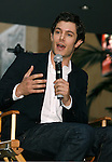 """HOLLYWOOD, CA. - September 16: Adam Brody answers questions at """"Jennifer's Body"""" Hot Topic Fan Event at Hot Topic on September 16, 2009 in Hollywood, California."""