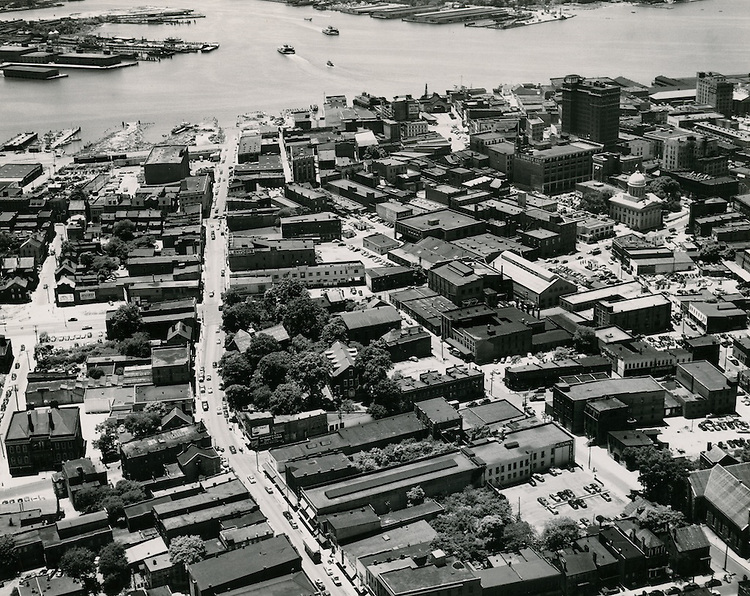 1953 June 02..Historical..Looking South St Pauls Boulevard..PHOTO CRAFTSMEN INC..NEG# 17-332.NRHA# 718..