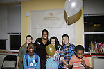 Rhonda Ross & Kids at Learning Center at Semiperm for the ribbon cutting ceremony was held on March 09, 2016 in New York, New York - Manhattan's Upper West Side - Rhonda Ross and Hearts of Gold (Photo by Sue Coflin/Max Photos)