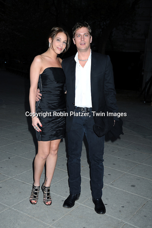 Marisol and Rob Thomas arriving at The Vanity Fair Tribeca Film Festival Party on April 20, 2010 at The State Supreme Courthouse in New York City.