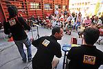 MITO per la citta, appuntamenti musicali itineranti per Settembre Musica. Il gruppo dei PlayToy Orchestra nella sede di Casa Oz.