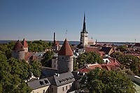 Medieval City Walls of Tallinn,Estonia