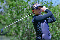 Jessica Korda (USA) watches her tee shot on 2 during round 4 of  the Volunteers of America Texas Shootout Presented by JTBC, at the Las Colinas Country Club in Irving, Texas, USA. 4/30/2017.<br /> Picture: Golffile | Ken Murray<br /> <br /> <br /> All photo usage must carry mandatory copyright credit (&copy; Golffile | Ken Murray)