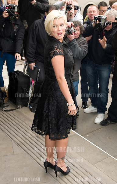 Kerry Katona arriving for the TRIC Awards 2012, at the Grosvenor House Hotel, London. 13/03/2012 Picture by: Simon Burchell / Featureflash