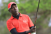David Odhiambo (KEN) in action during the second round of the Magical Kenya Open, Karen Country Club, Nairobi, Kenya. 15/03/2019<br /> Picture: Golffile | Phil Inglis<br /> <br /> <br /> All photo usage must carry mandatory copyright credit (&copy; Golffile | Phil Inglis)