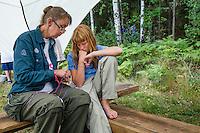 20140805 Vilda-l&auml;ger p&aring; Kragen&auml;s. Foto f&ouml;r Scoutshop.se<br /> scout, scouter, skog, l&auml;gerplats, ledare