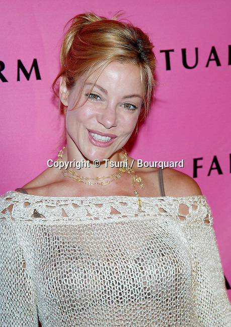 "Denise Faye arriving at the Farm Sanctuary Gala 2002 ""Emmys For Animals"" at the Beverly Hills Hotel in Los Angeles. September 21, 2002."