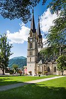 Austria, Styria, Admont: minster of Admont Abbey | Oesterreich, Steiermark, Admont: Stift Admont, Stiftskirche