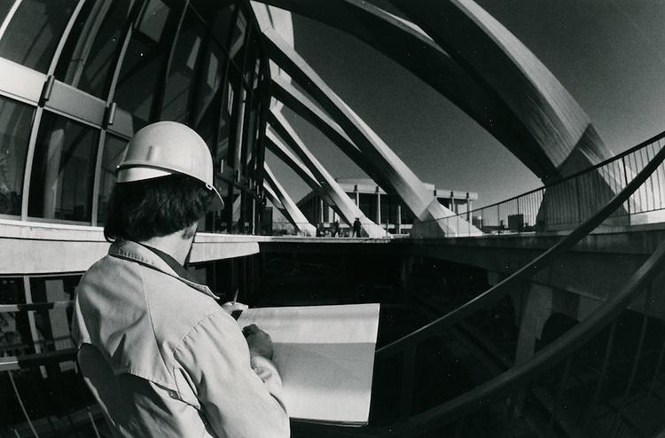 1971 November 05..Redevelopment..Downtown North (R-8)..Scope Convention Center..Millard Arnold.NEG# MDA71-154-5..