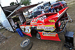 Feb 07, 2011; 3:36:44 PM; Gibsonton, FL., USA; The Lucas Oil Dirt Late Model Racing Series running The 35th annual Dart WinterNationals at East Bay Raceway Park.  Mandatory Credit: (thesportswire.net)