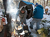 Homeless Camp in Lakewood. Peter Ackerman / Asbury Park Press - 2/12/10 - Lakewood