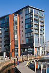 Neptune Quay apartments, Redevelopment of Ipswich Waterfront, Suffolk, England