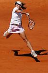Roland Garros. Paris, France. June 10th 2006..Women's Final. Justine Henin-Hardenne against Svetlana Kuznetsova..