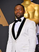 David Oyelowo in the photo room at the 89th Annual Academy Awards at Dolby Theatre, Los Angeles, USA 26 February  2017<br /> Picture: Paul Smith/Featureflash/SilverHub 0208 004 5359 sales@silverhubmedia.com