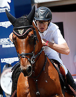 Guillaume Canet during the International Monte-Carlo Jumping on day 02