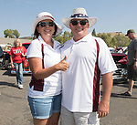John and Sue Irvin during the Hot August Nights Pre-Kickoff Party at the Bonanza Casino in Reno, Nevada on Sunday, August 6, 2017.