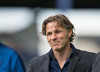 Wycombe Wanderers Manager Gareth Ainsworth during the Sky Bet League 2 match between Portsmouth and Wycombe Wanderers at Fratton Park, Portsmouth, England on 23 April 2016. Photo by Andy Rowland.